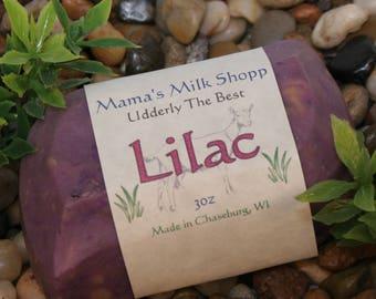 Lilac Soap - Farm Fresh - Bar Soap - Lye Soap - Goats Milk Soap - Sulfate Free Soap - Floral Soap - Artisan Soap - Handcrafted Soap