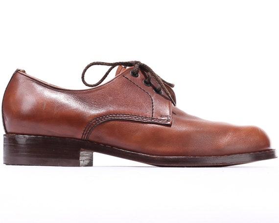 5 Luxury Formal Up Leather Genuine 8 Footwear 7 5 Casual Shoes Men 70s Brown US Eur men Shoes Dress Shoes Shoes UK Vintage Lace 41 Wedding qnxIa0B8w