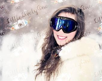 Digital overlay * ski mask * ski goggles * overlay * photo overlay * goggles * mask