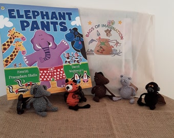 Elephant pants story bag