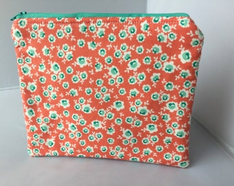Large Padded Zipper Pouch