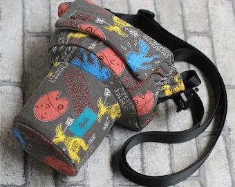 Mermaid customs DSLR camera bag Custom name digital camera backpack carry On Bag DSLR camera case DLSR Camera Travel Bag