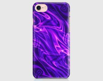 Purple Pink Neon Lights, Neon Print, Neon Design, Protective Phone Case, iPhone Cover, iPhone 7 iPhone 6 iPhone 5 Samsung Galaxy \ hc-pp025