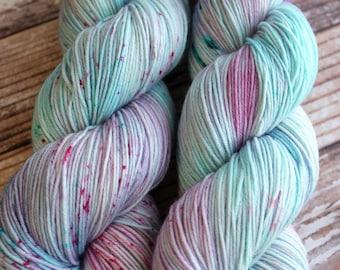 Isabel - Seascape - Hand Dyed Yarn - 75/25 Superwash Merino/Nylon