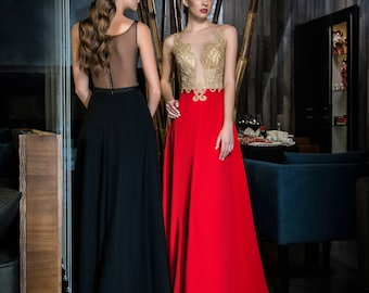 Evening dress prom dress formal gown  bridesmaid dress  ''Ines'' from NYC Bride, made in Europe