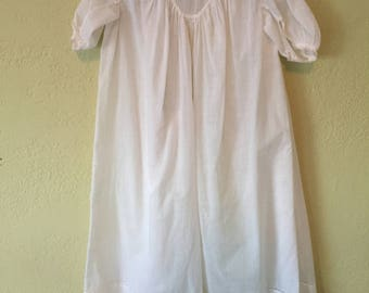 Sweet Vintage Christening Gown Baptism Gown 23 inches long