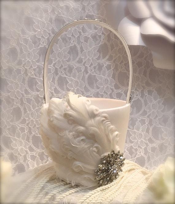 Flower girl basket wedding basket wedding decoration junglespirit Gallery