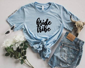 bride tribe shirt - bride tribe tee - bride shirt -  wedding shirt - wedding stuff - bride tribe - wedding shirts - bride - wedding shirts