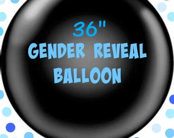 Gender Reveal Balloon. Gender reveal party. Gender reveal confetti balloon. Confetti balloons. Baby shower balloons. its a boy. its a girl