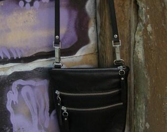 Leather small bag Small leather handbag Shoulder bag Leather crossbody bag
