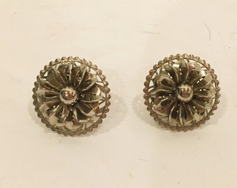 Vintage Designer Signed Marino Earrings