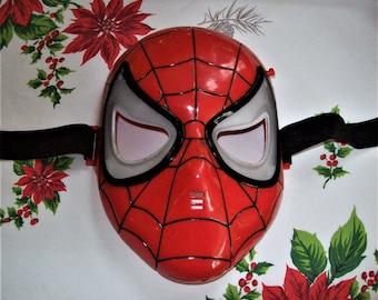 Spiderman mask, light-up toy mask, Marvel toy