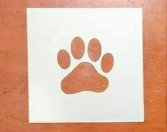 Wilde kat Paw Print