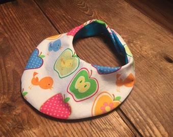 CLEARANCE SALE! Apple waterproof baby bib