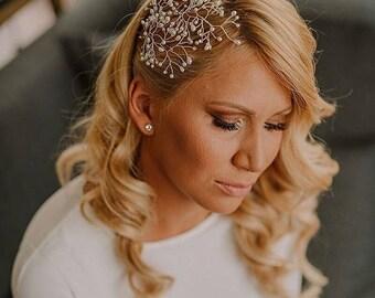 Pearl wedding hairpins, Wedding pearl hair vine, Wedding set hairpins, Bridal ivory hairpiece, Bridal hair adornment, Wedding  hair jewelry