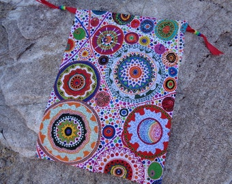 Chakra Third Eye Gift,Gathering or Storage Bag