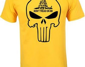 Don't Tread on Me Skull t-shirt
