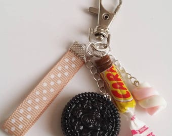 Personalized bag charm