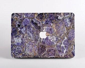 Purple Marble Macbook Case Design for MacBook Pro Retina Display, MacBook Pro NON Retina Display  and MacBook Air Case