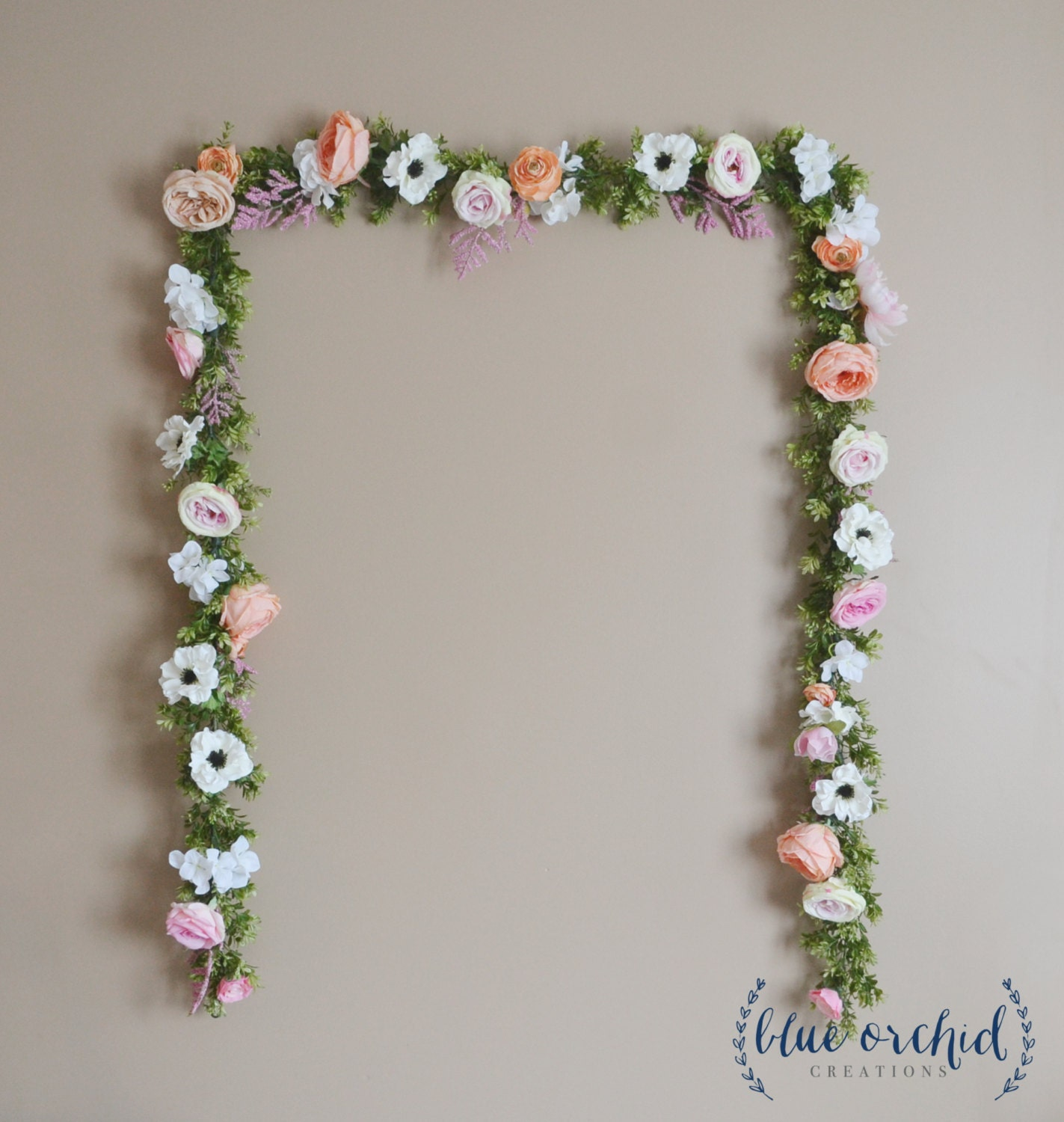 Wedding garland wedding backdrop flower garland flower zoom izmirmasajfo Gallery