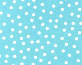Ann Kelle's Remix Dots in Aqua, LAST 24 Inches