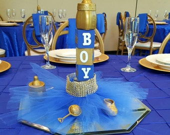 Good Royal Baby Shower Centerpieces
