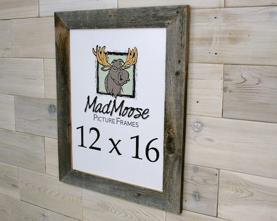 12x16 Barn Wood Thin x 2 Picture Frame tags: