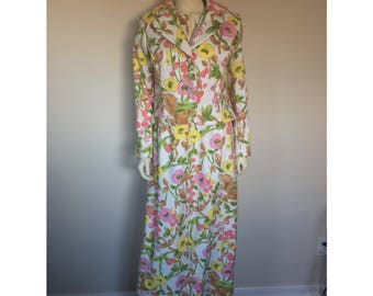 Floral Floor Length Dress with Matching Blazer Jacket