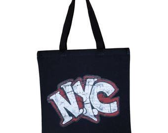 Andre Charles NYC Graffiti Canvas Tote Bag