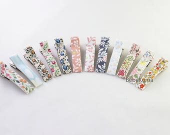Print hair clips, toddler hair clips, Hair Clip, hair bow set, hair clip set, Baby Hair clip, Hair Bow, Hair clips for girl, girls hair clip