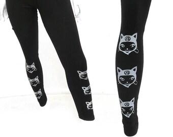 Ninja Kitty Black Leggings