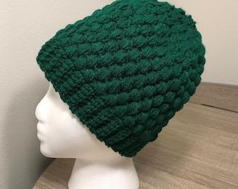 Hunter Green Winter Hat