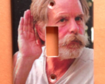 Bob Weir Light Switch Cover