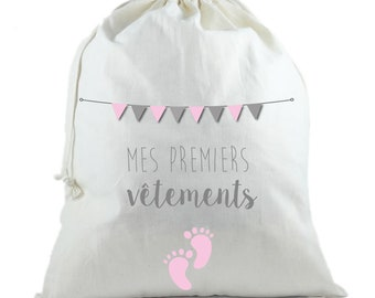 Pink maternity backpack - my first clothes