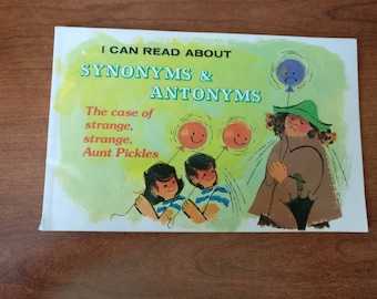 I Can Read About Synonyms &Antonyms, The case of strange, strange, Aunt Pickles p. 1977