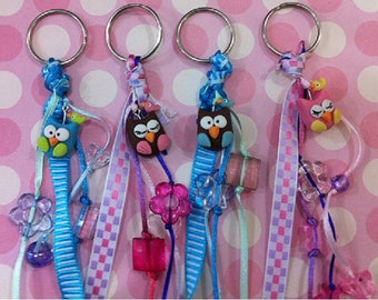 12PC Owl key ring Party Favor