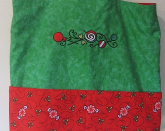 Christmas Candy Eco Friendly Tote - Shopping Bag
