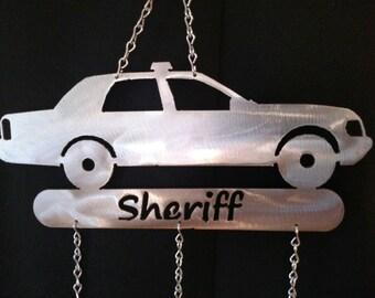 Sheriff Car Wind Chime
