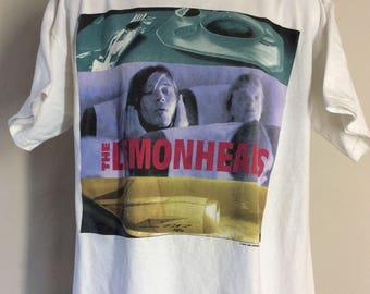 Vtg 1993 The Lemonheads T-Shirt White XL 90s Grunge Alternative Rock Band