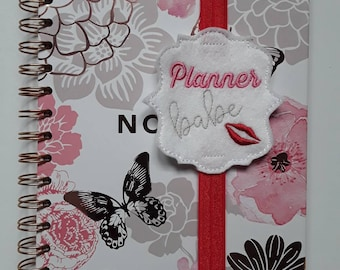 Amazing 'Planner Babe' Planner Band. Planner Gifts.  Stationery.  Bookmark.  Page Marker.