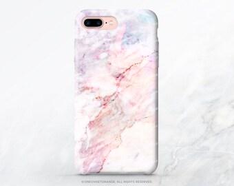 iPhone X Case iPhone 8 Case iPhone 7 Case Pink Marble iPhone 7 Plus iPhone 6s Case Marbled iPhone SE Case Galaxy S7 Case Galaxy S8 Case V58