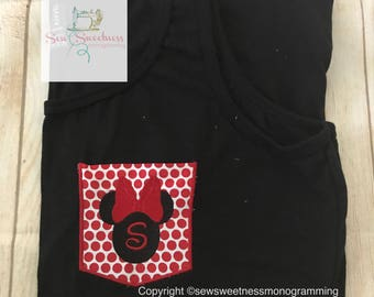 Minnie Faux Pocket Tank