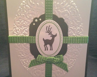 Winter Season greeting card