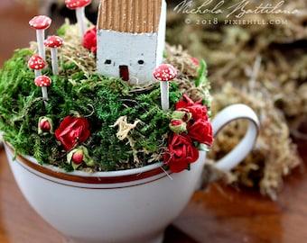Fairy Garden / Town in a Teacup