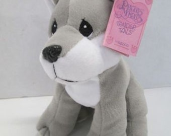 Enesco 1998 Precious Moments Tender Tails Wolf HTF Canadian tag