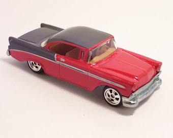 1956 Chevrolet Bel Air - Vintage Die Cast Car, 1/64th scale by Hot Wheels
