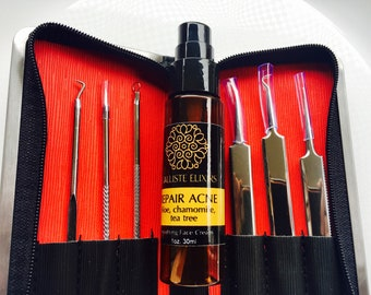 MICRONEEDLING ACNE SET treatment for acne therapy pimple removal and blackheads removal