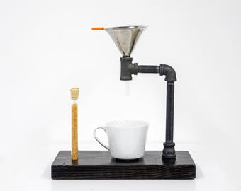Pour Over- Pour Over Stand- Pour Over Coffee- Drip Coffee Maker- Drip Coffee Maker- Coffee Gift- Coffee Mug- Coffee- Housewarming gift- Host