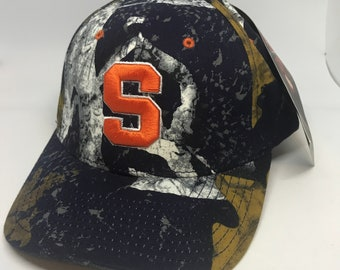 VTG Syracuse Orange Zephyr Caps NWT adjustable hat