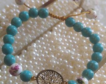 Bespoke hand made bracelet